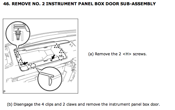 Getting The Damn Driver Side Quot Glove Box Quot Out Toyota Fj