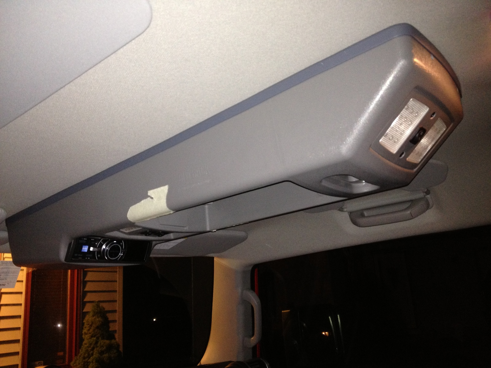 Outback Roof Console Full Install Page 6 Toyota Fj