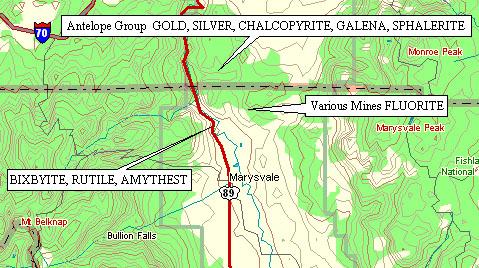 Marysvale Area