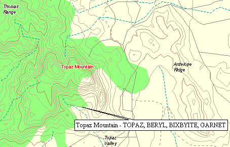 Topaz Mountain Utah Map.Topaz Marulla Dot Com