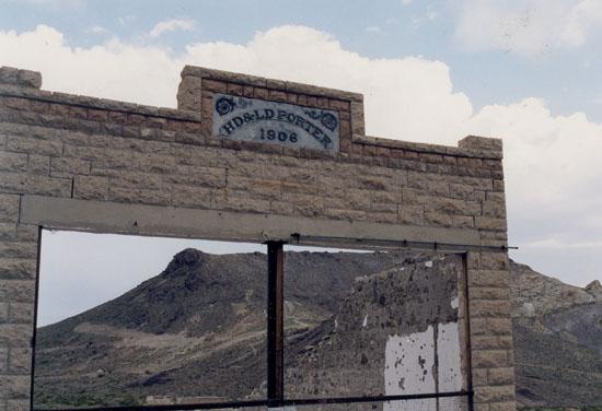 Porter Mercantile - Rhyolite, Nevada