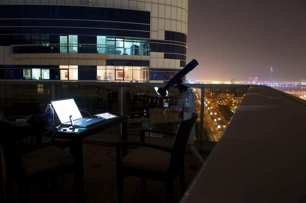 Dubai Eclipse Setup