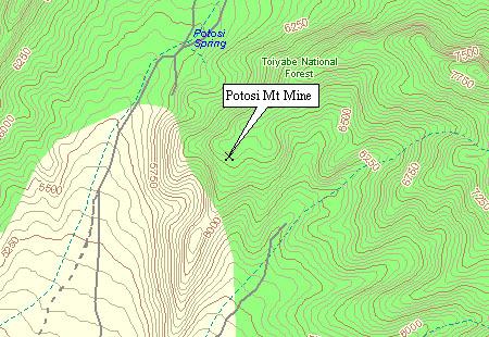 Mt. Potosi Area